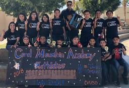 Coral Mountain Academy placed 1st at Math Field Day 2018!