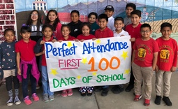 Peter Pendleton 100 Days of School Perfect Attendance
