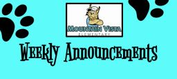 MV Weekly Announcements