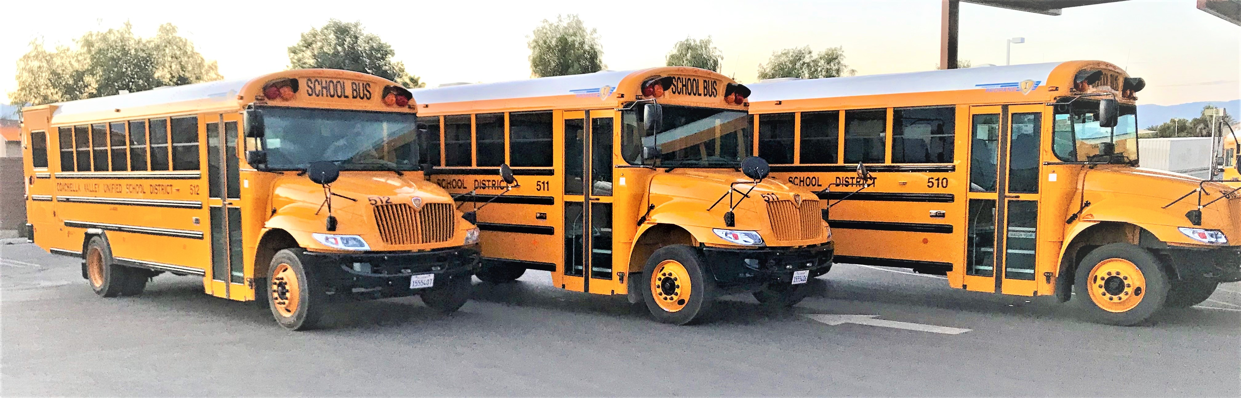 Earlier this school year we took delivery of three, brand new Special Needs buses.