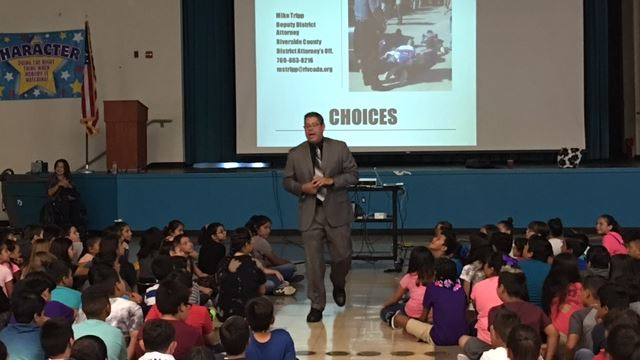 Students learn about making positive choices