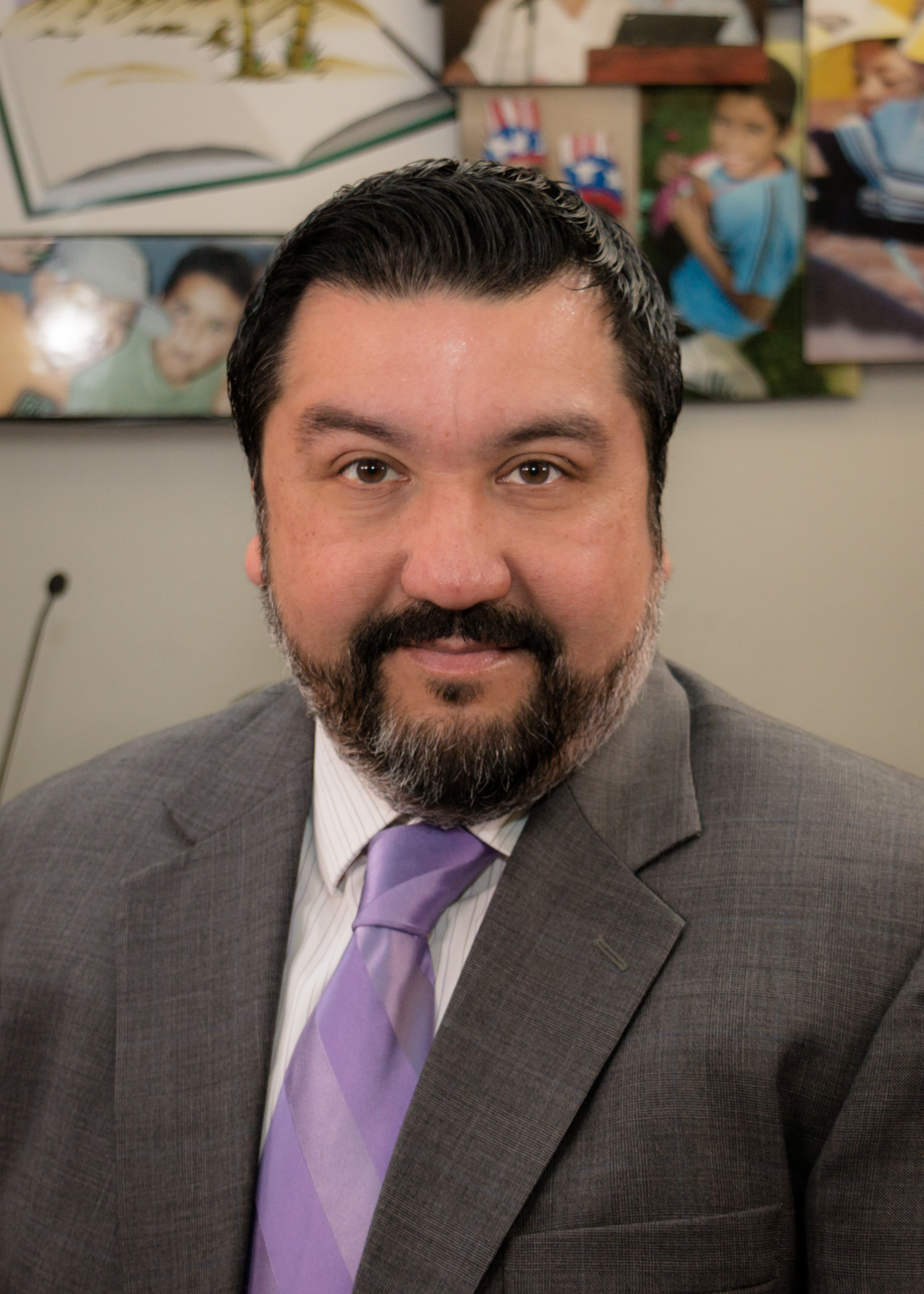 Director of Special Education Alejandro Gonzalez