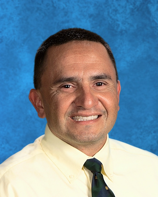 West Shores High School Principal, Richard Pimentel