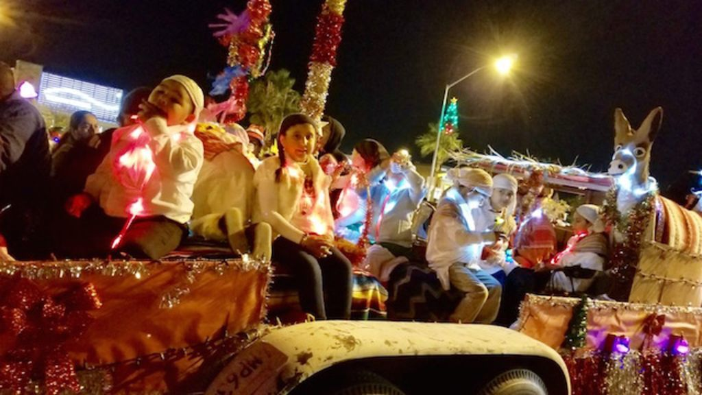 Cesar Chavez Students Attend Comic-Con Holiday Parade
